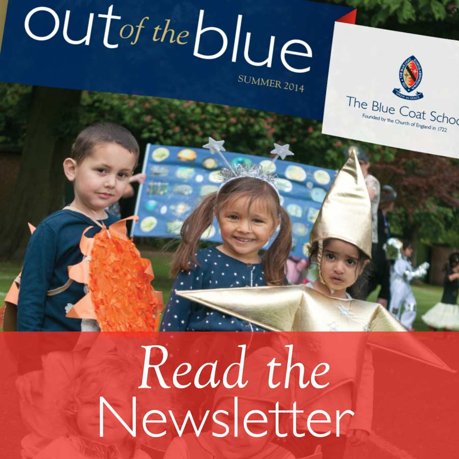 Newsletter - Out of the Blue