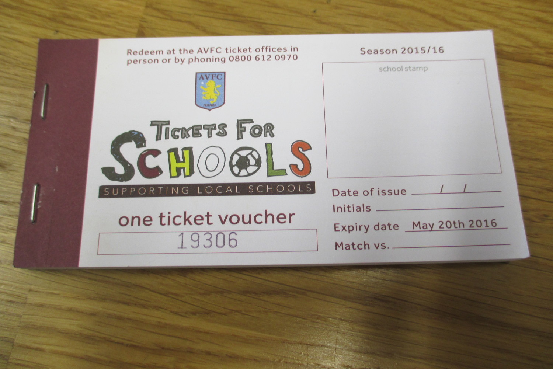 Aston Villa Tickets For Schools The Blue Coat School