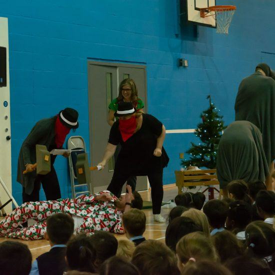 Christmas performance for pupils